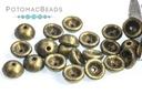 Teacup Metallic Suede Gold