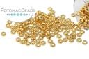 Miyuki Spacer Duracoat Galvanized Gold 2.2x1mm