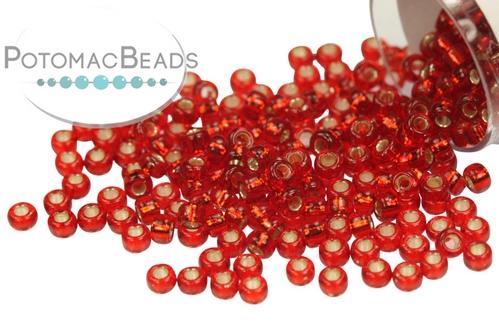 Miyuki Seed BeadSilver Lined Ruby 11/0