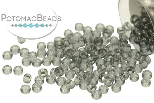 Miyuki Seed BeadTransparent Gray 11/0