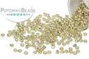 Miyuki Seed BeadDC Galvanized Silver 15/0