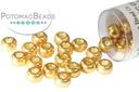 Miyuki Seed BeadDC Galvanized Gold 6/0