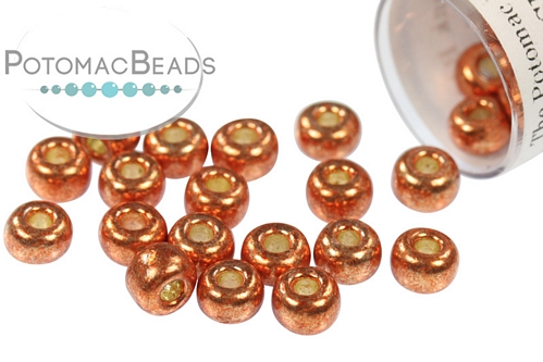 Miyuki Seed BeadDC Galvanized Pink Bl 6/0