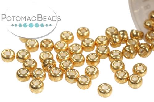 Miyuki Seed BeadGalvanized Gold 8/0