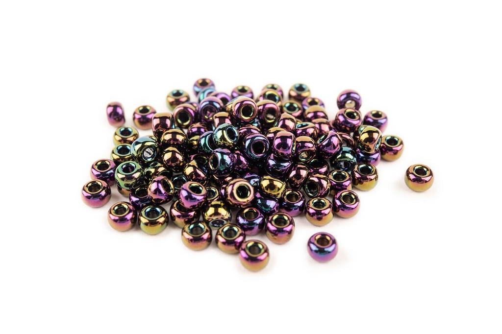 Miyuki Seed BeadMetallic Dark Plum Iris 8