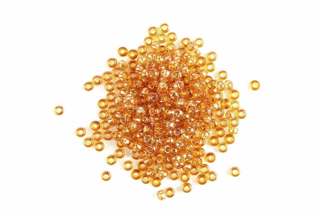 Miyuki Seed BeadCrystal Apricot Med