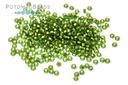 Miyuki Seed BeadMatte Silver Lined Olive