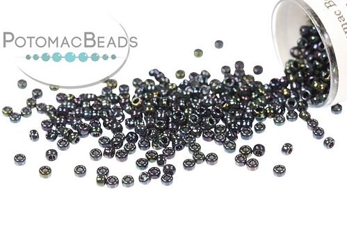 Miyuki Seed BeadMetallic Dark Blue IrisL