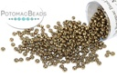 Miyuki Seed BeadMetallic Dark BronzeLike