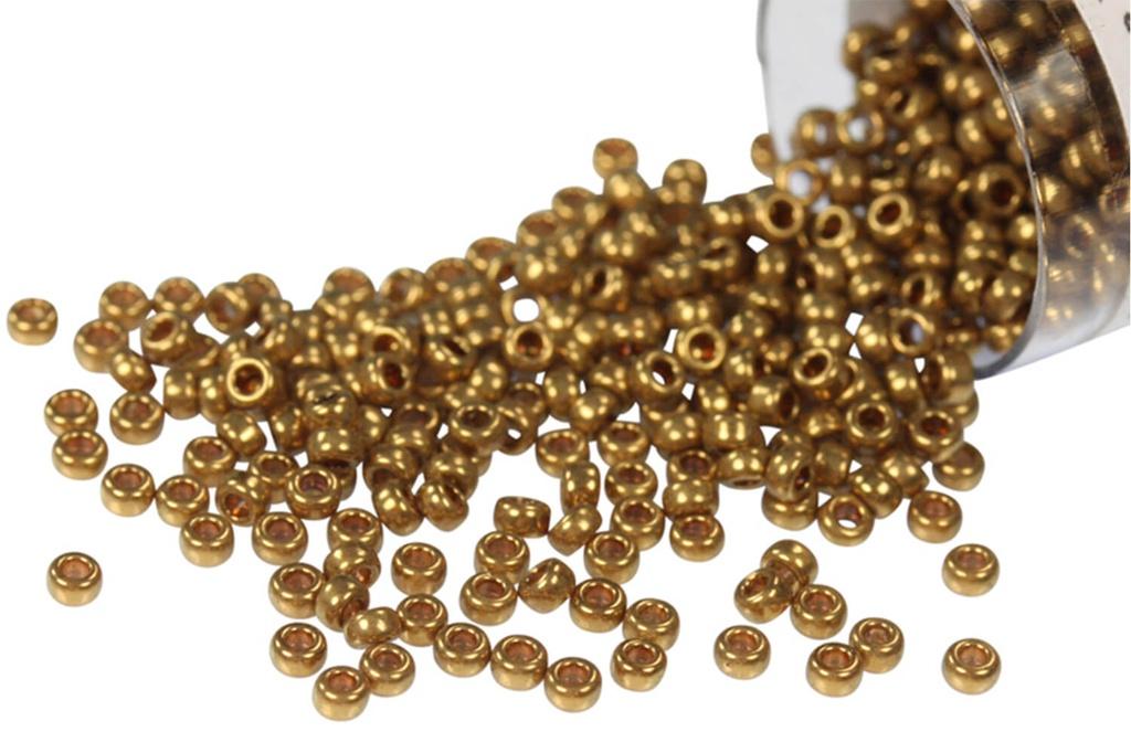 Miyuki Seed Bead Metallic Light Bronze