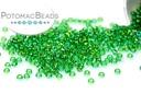 Miyuki Seed BeadTransparent Green AB