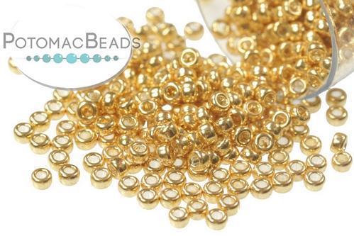 Miyuki Seed Bead Galvanized Dark Yellow Gold