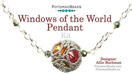Kit - Windows of the World Pendant - 1 Kit - Makes 1 Pendant
