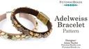 Beadweaving 1297 Adelweiss Bracelet
