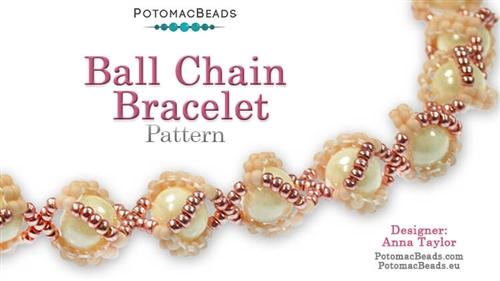 Ball Chain Bracelet Pattern -
