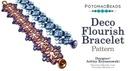 Beadweaving 1282 Deco Flourish Bracelet