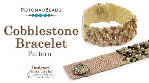 Beadweaving 852 Cobblestone Bracelet Pattern