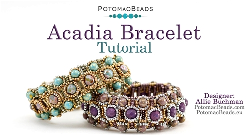 Beadweaving 1211 Acadia Bracelet