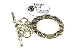 Sterling Silver 3-Ring Toggle