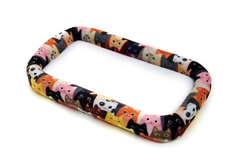 """Bead On It Board Curious Kittens (6x11"""" Rectangle)"""