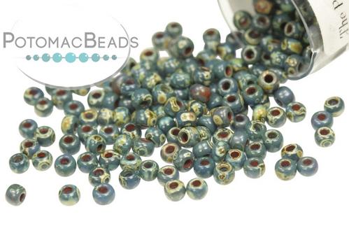 Miyuki Seed Beads Picasso Montana Mt 11/0