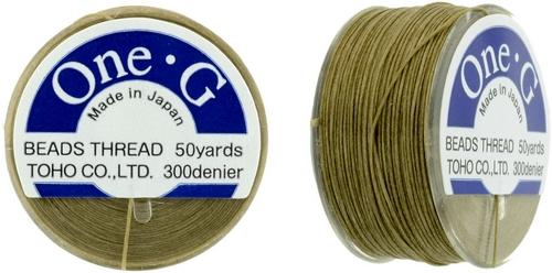 One-G Thread Sand Ash