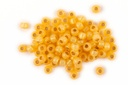 Miyuki Seed Beads - Duracoat Silver-Lined Light Yellow - Size 8/0 - 14g Tube - Approx 540 beads per tube