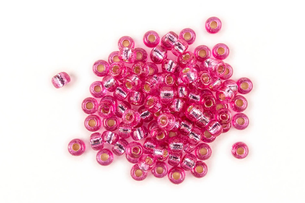 Miyuki Seed Beads Duracoat Silver-Lined Orchid 8/0