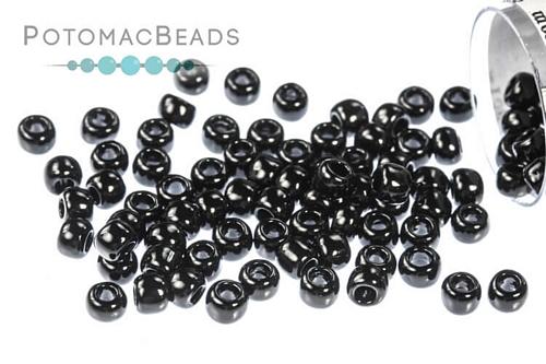 Toho Seed Beads Opaque Jet