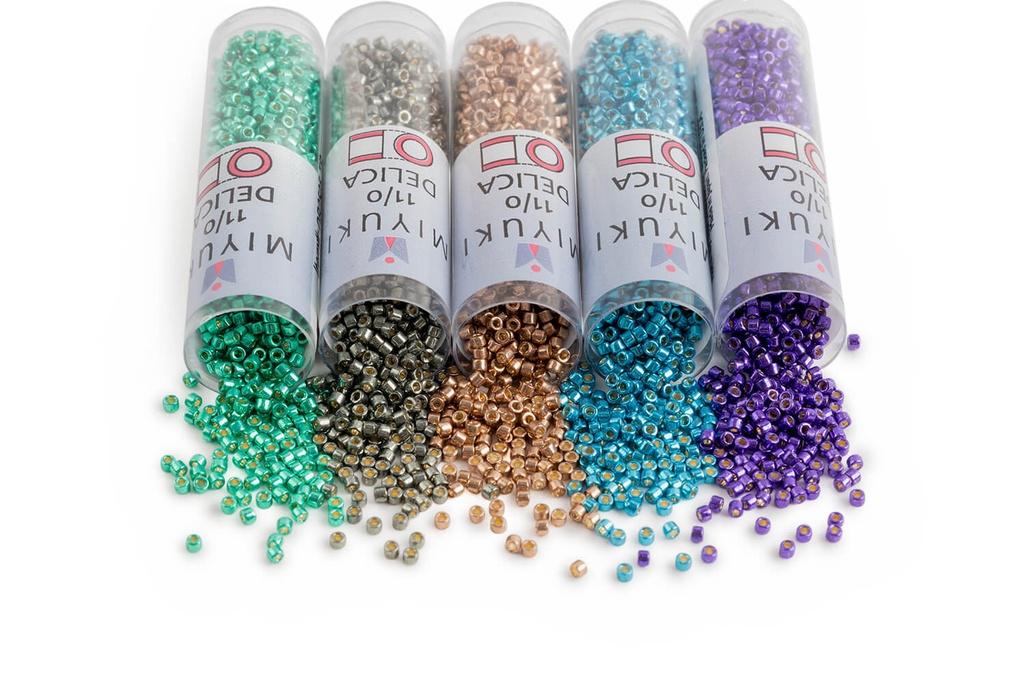 Miyuki Delica Seed Bead Kit - Duracoat Galvanized 2020 NEW Colors DB2501-2517