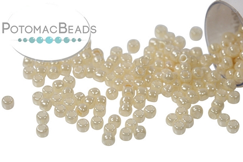 Toho Seed Beads Opaque Lustered Light Beige
