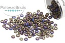 Demi Round Iris Purple Matte 11/0