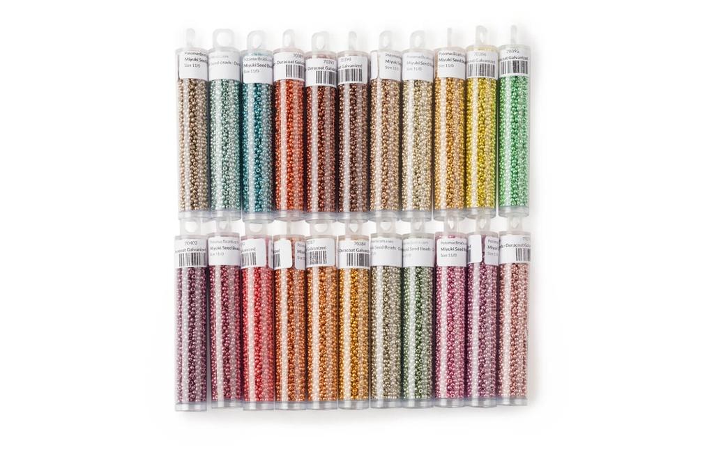 Miyuki Kit All Duracoat 11/0 Galvanized Colors