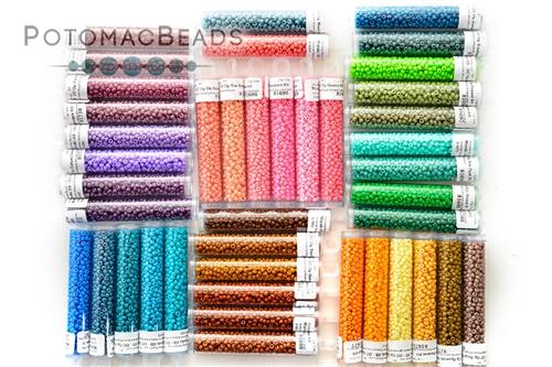 Miyuki Kit All Duracoat 8/0 Opaque Colors