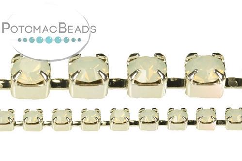Cup Chain Opal Silver