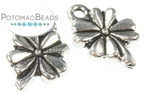 Silver Charm 4 Leaf Clover