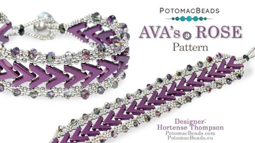 AVA's Rose Bracelet Pattern Hortense Thompson