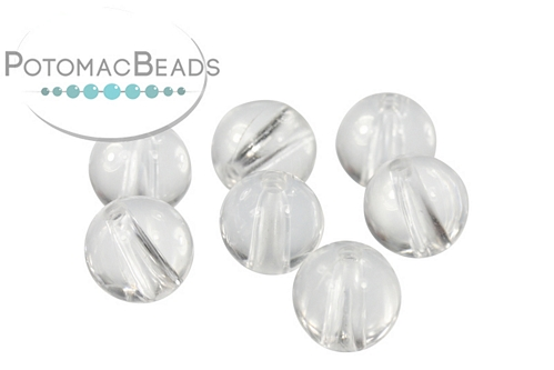 Clear Round Bead Form 8mm
