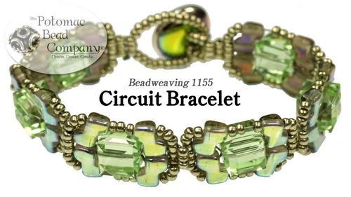 Beadweaving 1155 Circuit Bracelet