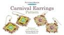 Beadweaving 892 Carnival Earrings Pattern