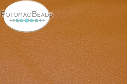 "Art Leather - Ochre - Per Sheet - Sheet 6x9"" (15x22.5cm)"