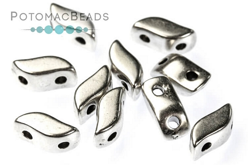 Potomax StormDuo Bead - Antique Silver (Pack of 10)