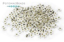 Czech Seed Beads Silver-Lined Crystal 11/0