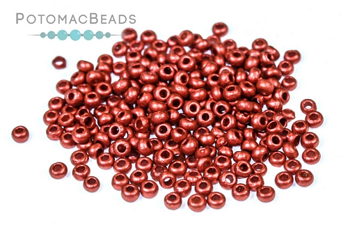 Czech Seed Beads Metallic Gold 11/0