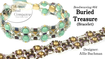 Beadweaving 864 Buried Treasure Bracelet Pattern