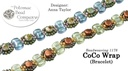 Beadweaving 1178 CoCo Wrap Bracelet Pattern