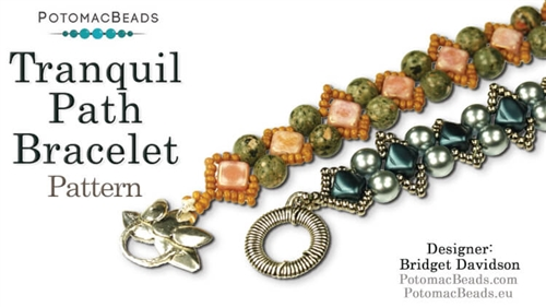 Beadweaving 1134 Tranquil Path Bracelet Pattern