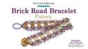 Beadweaving 786 Brick Road Bracelet Pattern