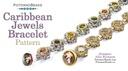 Beadweaving 1111 Caribbean Jewels Bracelet Pattern