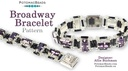 Beadweaving 1220 Braodway Bracelet Pattern